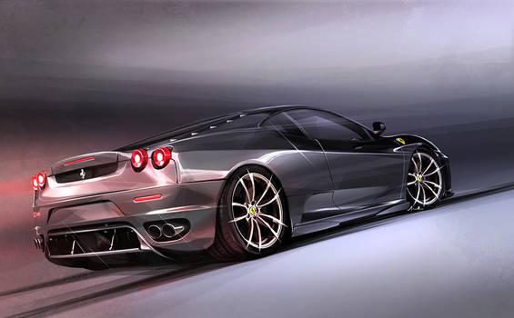 Ferrari F430 Illustration