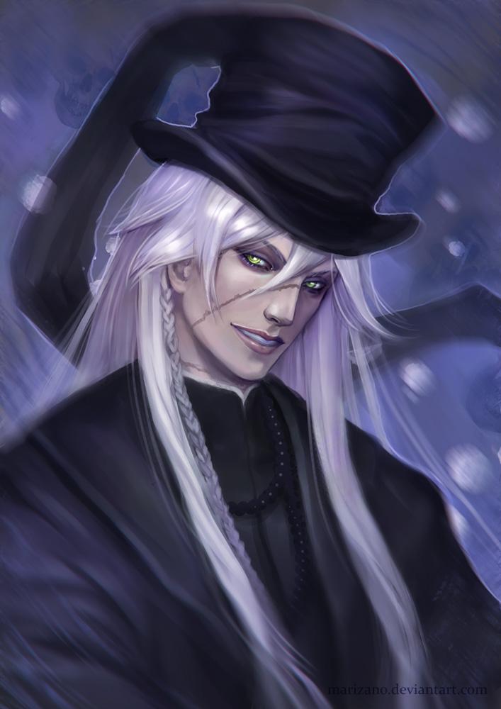 Kuroshitsuji Undertaker By Marizano