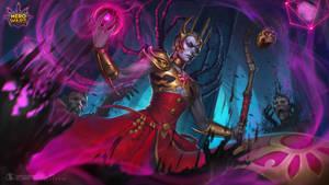 Demon Skin Character - Hero Wars
