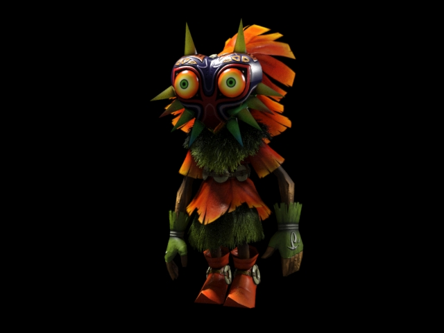 Skull Kid Wallpaper: The Legend Of Zelda By