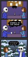 Sans the Skeleton - Bloopers