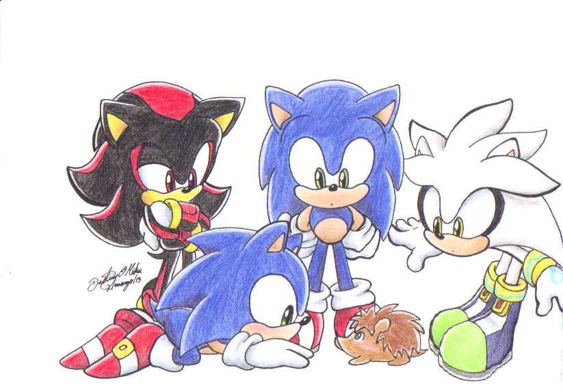 Hedghogs meet ...........Hedgehog? by GilGummyBear