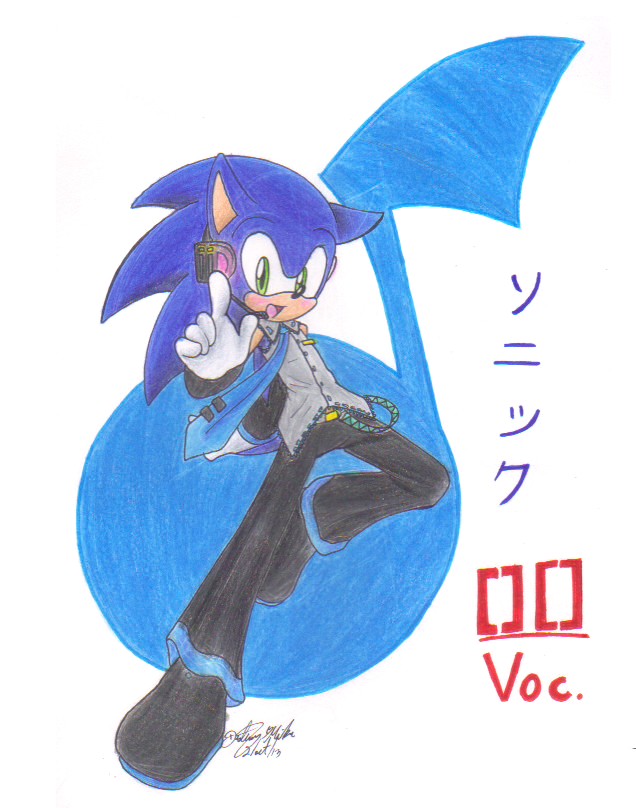 Vocaloid Sonic by sonicartist16