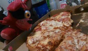 Foxy wants pizza