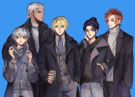 The Blue Lions Boys