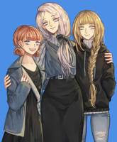 The Blue Lion Girls
