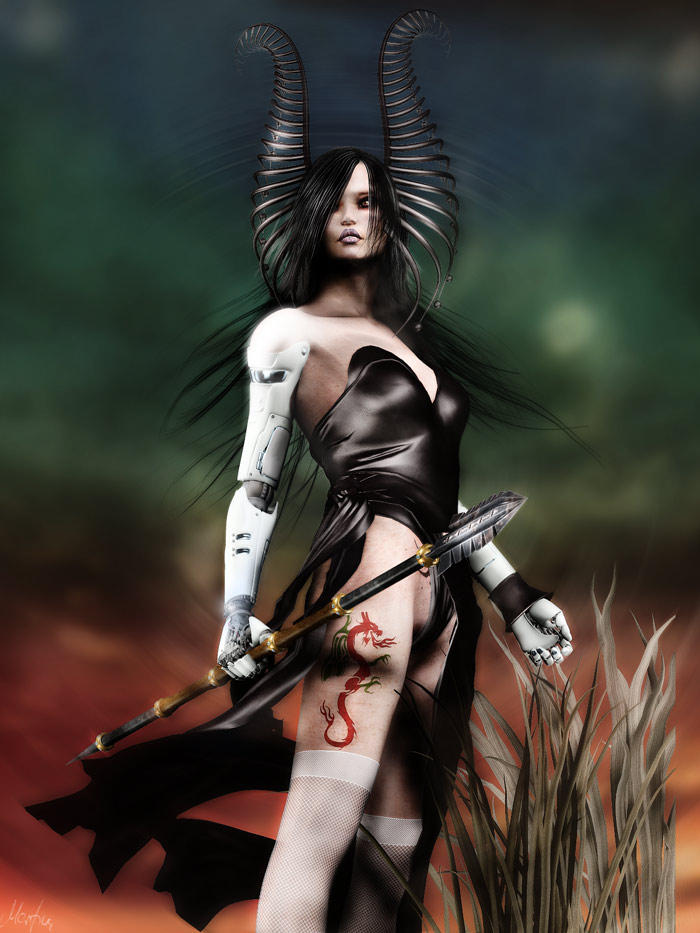 The Warrior by Arwenone