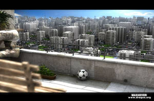 City scape by max4ever