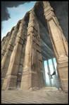 Temple 3D Sketch