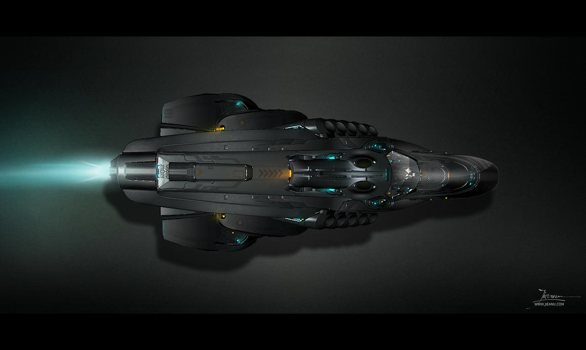Milano Spaceship Concept Art