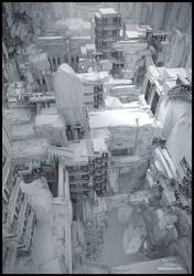 Underworld wireframe by max4ever