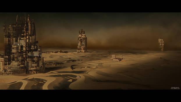 Mars Base Storm