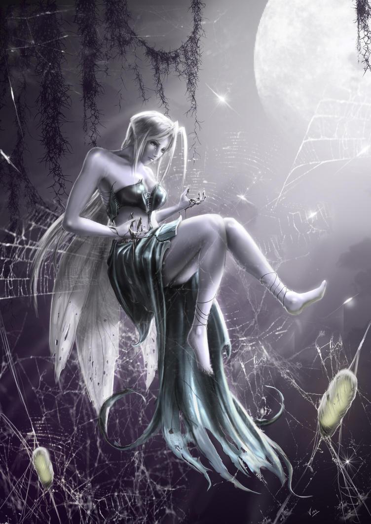 moon fairy by ptitvinc