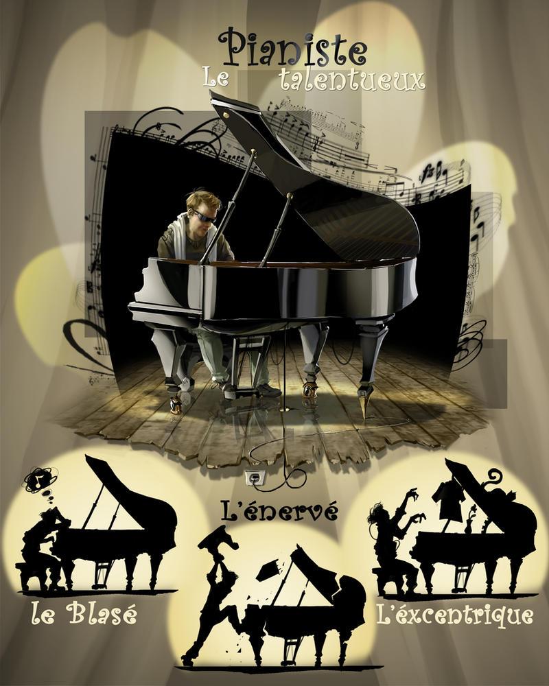 le pianiste by ptitvinc