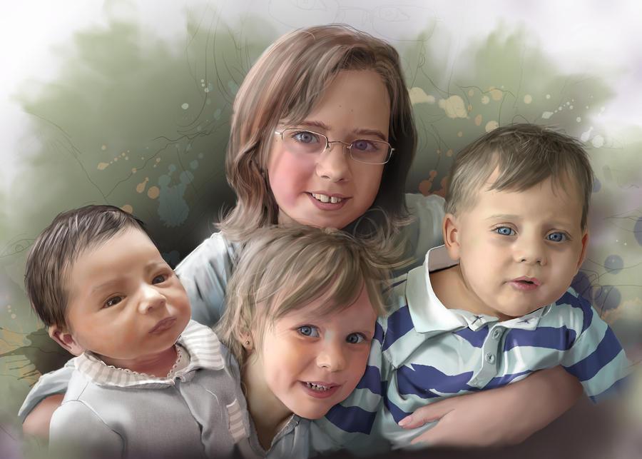 portrait de famille by ptitvinc