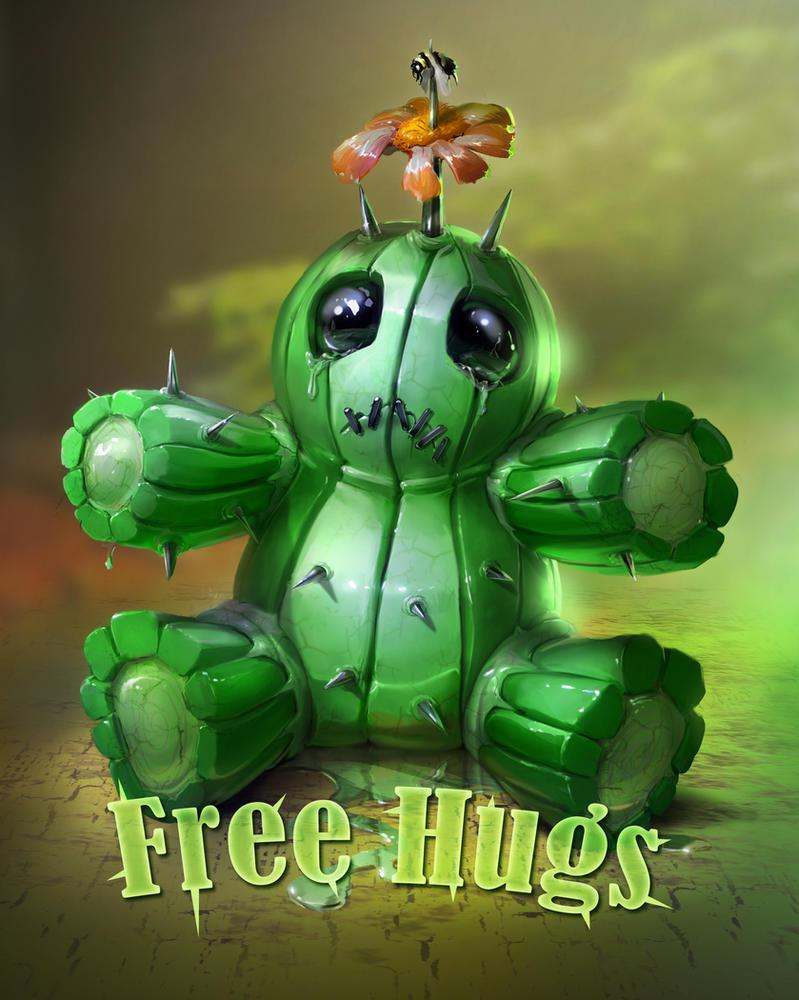 dangerous free hugs by ptitvinc