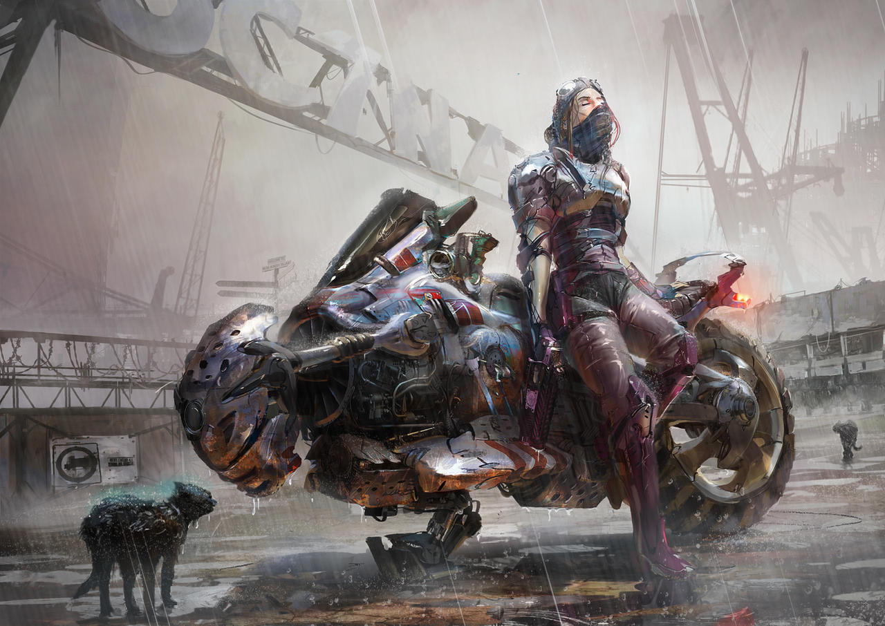 Motorbike Cyberpunk