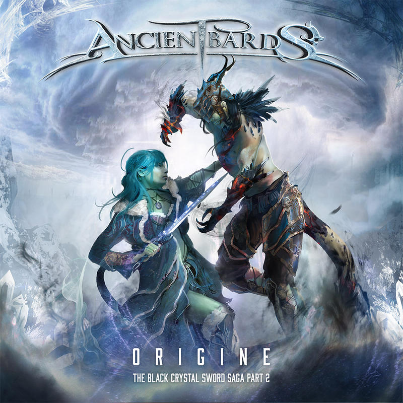 cd cover ancient bards origine by ptitvinc