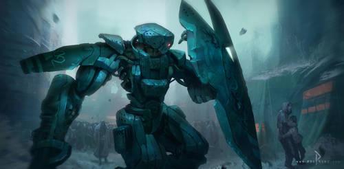 mechanical civil war by ptitvinc