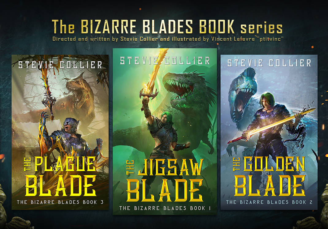 Prsentation The Bizarre Book Blade Serie Petite by ptitvinc