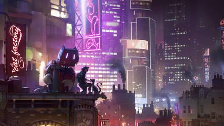 Neon Nights - vincent lefevre