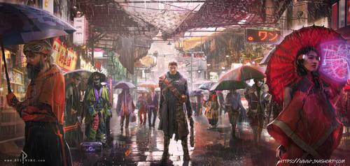 Cyberpunk Bazar