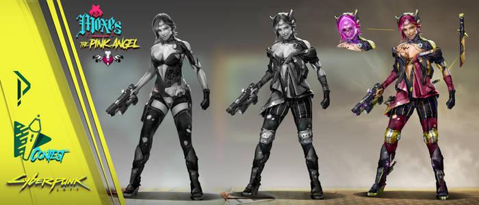 Contest Dps Cyberpunk 2077 Sketch