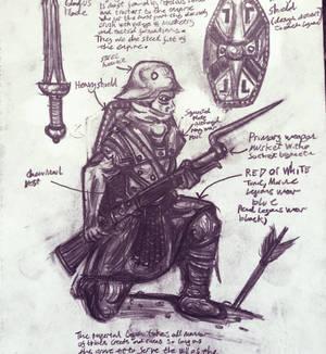 ULTORIAN LEGIONARY ( fantasy concept art