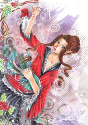 SS: Mineko Akane by VK-oelala