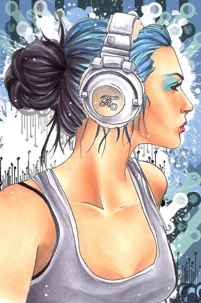 headphones by VK-oelala