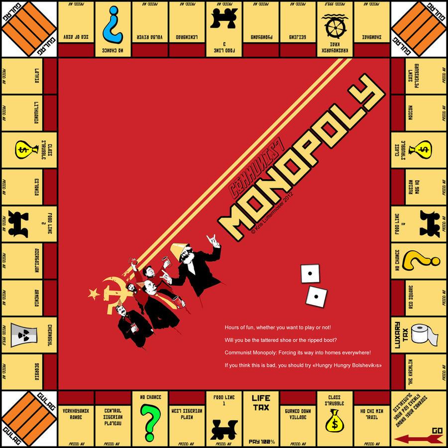 Communist Monopoly By Keenkris On Deviantart