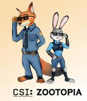 CSI Zootopia by Greys-Giovana
