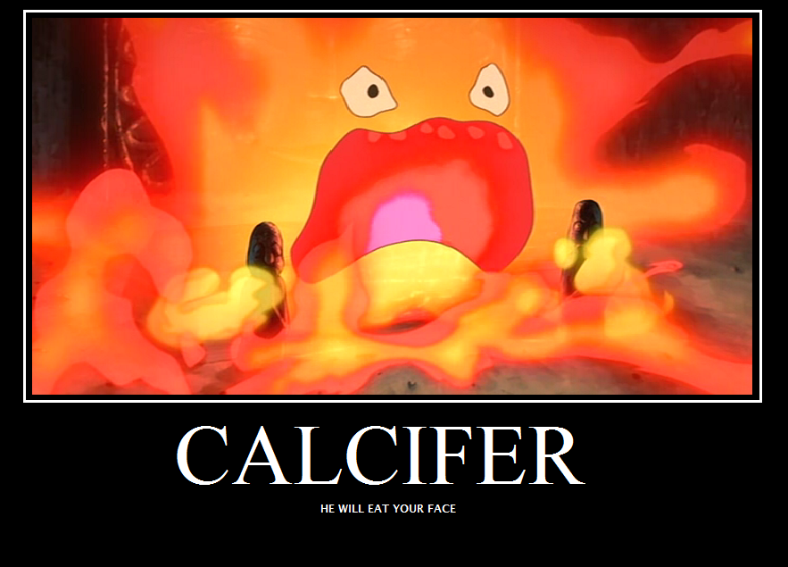 Howls Moving Castle Calcifer