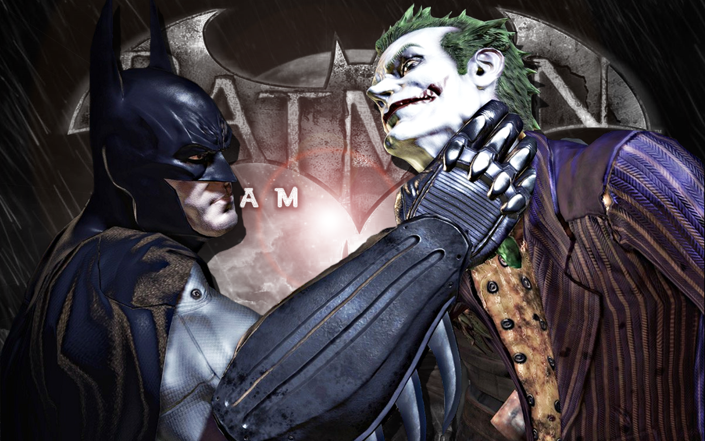 Batman: Arkham Asylum wallpaper artwork thanks to Deviant Art user GRP 2009