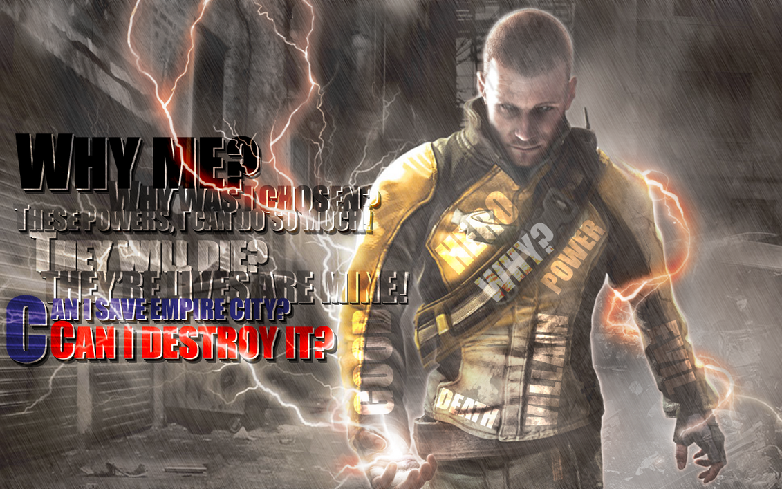 infamous wallpaper 2 by grp 2009 on deviantart