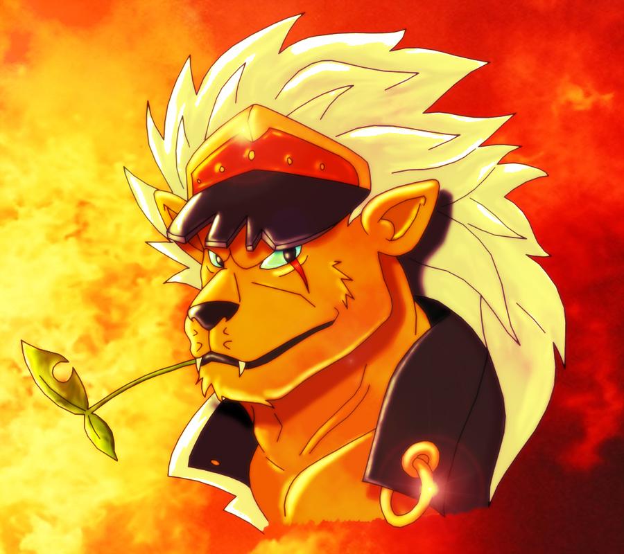 Digimon Photos~ Banchou_Leomon_Fire_Version_by_leomon32