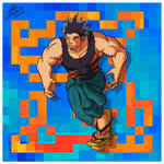 Gijinka Digimon Xros Greymon by leomon32