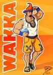 Adult Wakka +Kingdom Hearts+ by leomon32