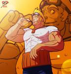 Kingdom Heart +Cid Highwind+ by leomon32