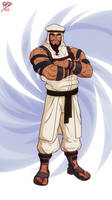 Street Fighter 5 +Rashid+ by leomon32