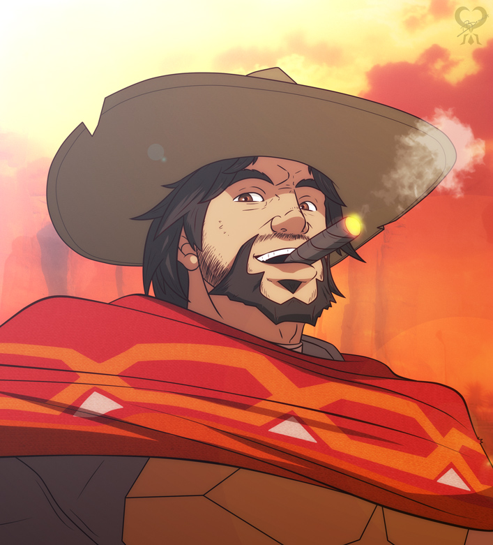 Jesse McCree +Overwatch+ by leomon32 on DeviantArt
