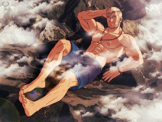 Giant Chris Hemsworth