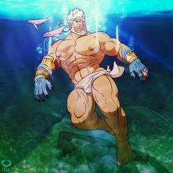 Aegir - Housamo + Under the Sea + by leomon32