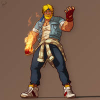 Axel Stone - Streets of Rage 4