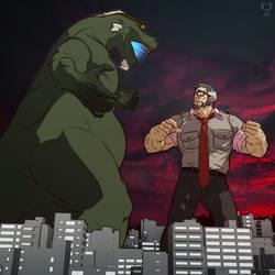 Kaiji vs Kaiju