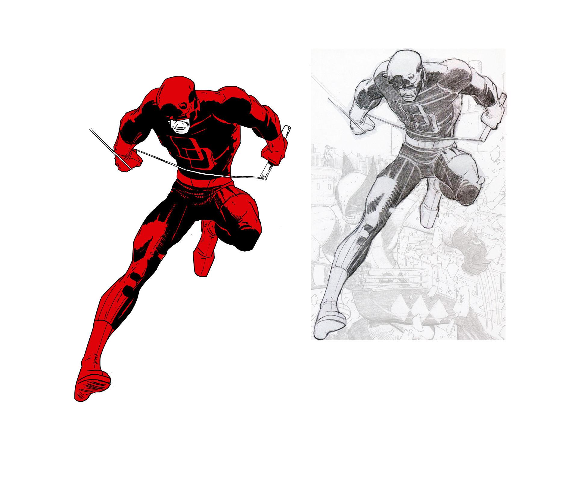Daredevil Inks