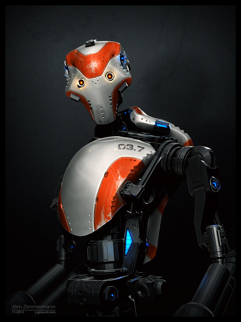Robot 03 Concept by Nero-tbs