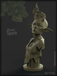 Wood Spirit Sketch by Nero-tbs