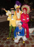 The Four Caballeros by JabiCosplay
