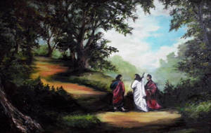 Copy of the picture On the way to Emmaus